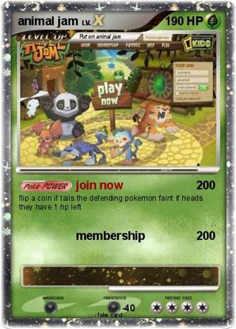 Animal Jam Gift Card - animal jam pokemon cards images pokemon images