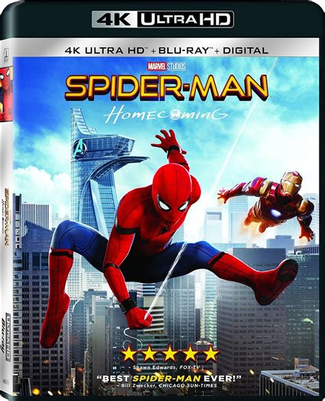 film blu ray 3d 4k spider man homecoming 4k and 3d blu ray