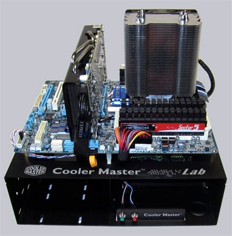 cooler master test bench v1 0 intel unlock overclock system building page 6