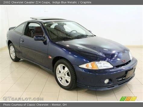 2002 chevrolet cavalier coupe indigo blue metallic 2002 chevrolet cavalier z24 coupe