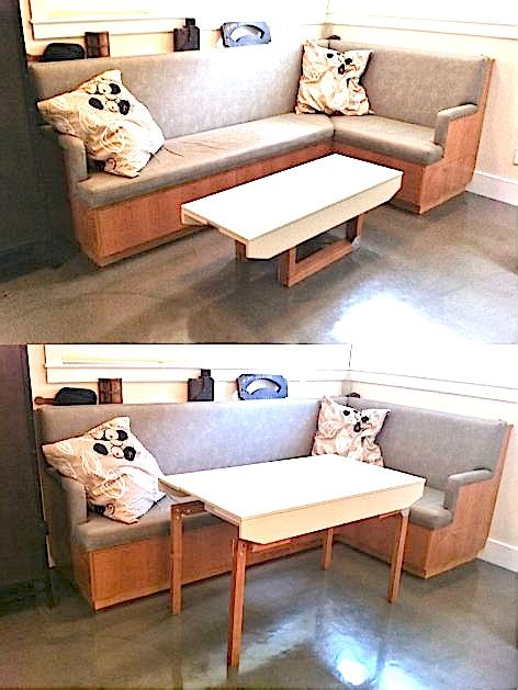 Coffee Table Into Dining Table A Coffee Table You Can Transform Into A Dining Table Tiny House Pins