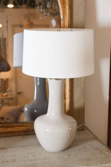 Crackle Glass Vase Table L by Vintage Crackle Glazed Vase As Table L At 1stdibs