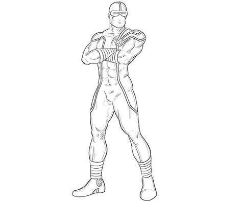 marvel cyclops coloring pages coloring pages