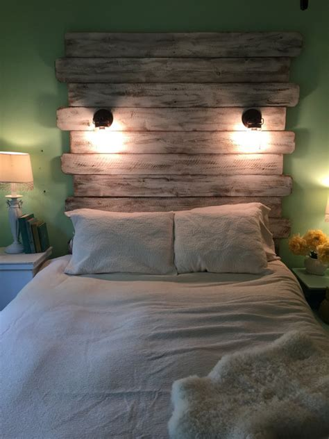 beds with lighted headboards reclaimed style lighted white queen headboard