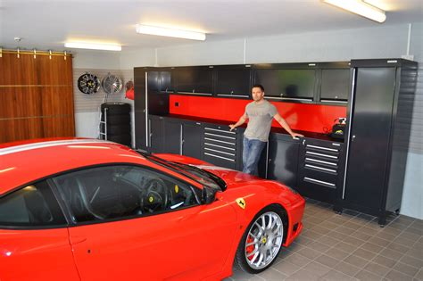 Garage Workshop Design by Design Garage Wall