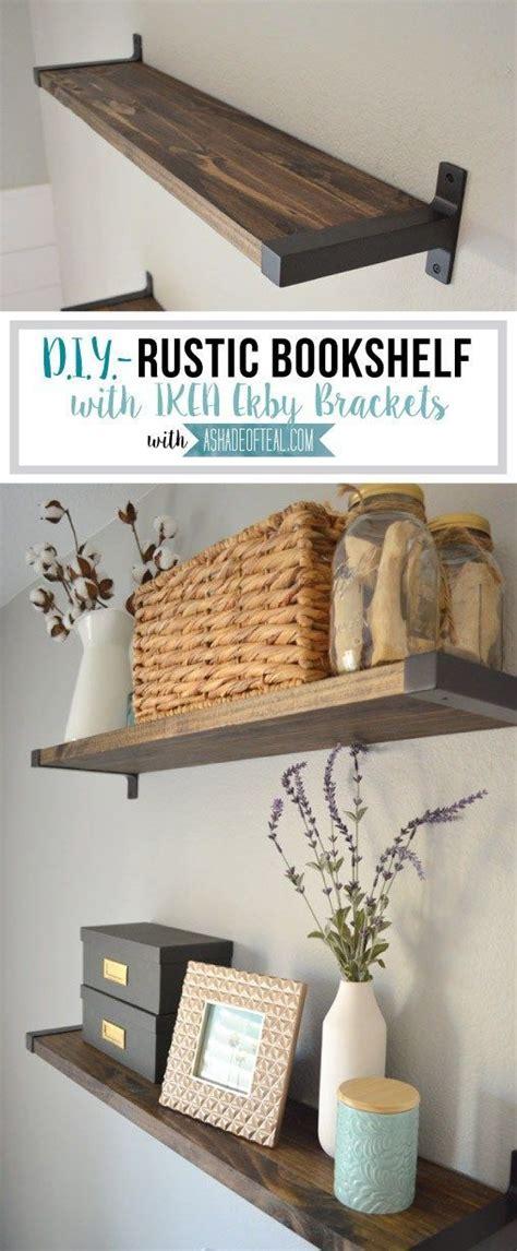 best 25 rustic bookshelf ideas on bookshelf
