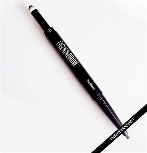 Maybelline Pensil Alis Fashion Brow Duo Shaper new maybelline fashion brow duo shaper review