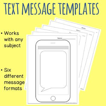 text message templates choice image templates design ideas