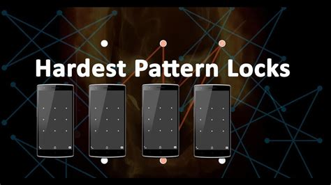 youtube pattern lock best amazing hardest pattern locks you don quot t know about