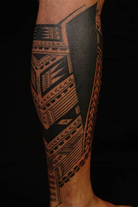 thigh tattoos pinterest maori lower leg search