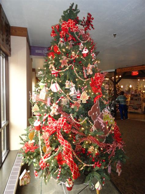 gingerbread themed trees interior design livened up with themed trees mjn and associates interiors