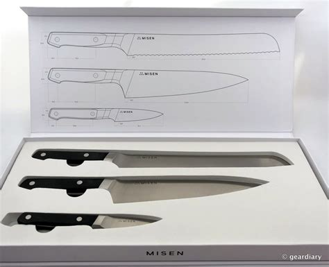 misen 03 essential knife set complete your kitchen with