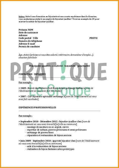 Lettre De Motivation Vendeuse En Bijouterie 10 Cv Vendeuse En Bijouterie Lettre Administrative