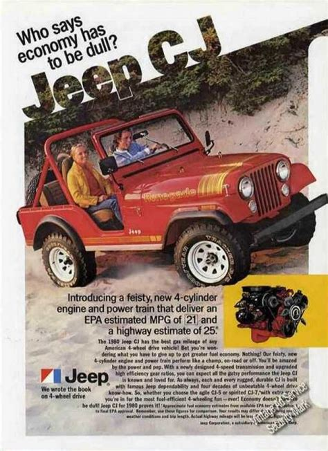 vintage jeep ad vintage car advertisements of the 1980s page 7