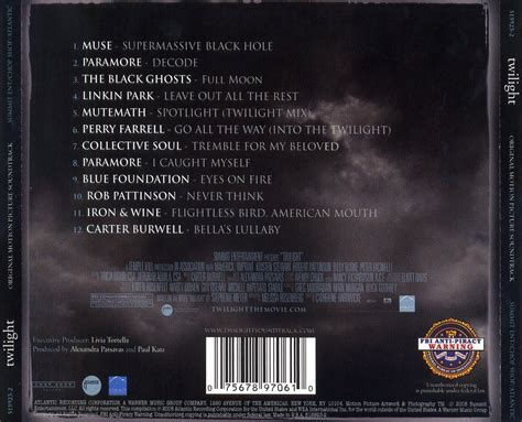 soundtrack list twilight soundtrack search engine at search