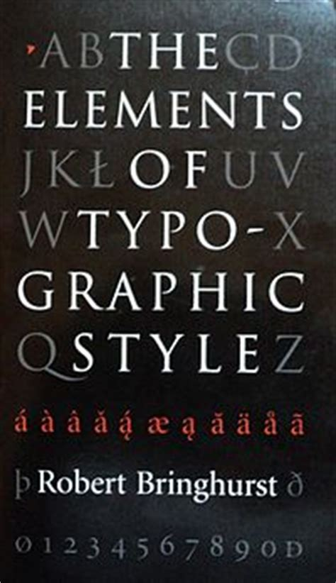 the elements of typographic the elements of typographic style wikipedia
