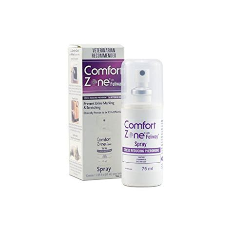 comfort zone products reviews comfort zone feliway spray 75 ml for cat calming buy