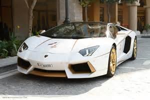 Gold And Lamborghini Meet The One Gold Plated Lamborghini Aventador