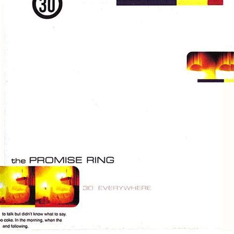 the promise ring 30 degrees everywhere 1996 lyricwikia