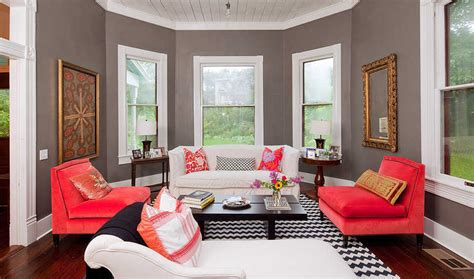Kursi Ruang Keluarga Duplak Polos kombinasi warna cat ruang tamu elegan terbaru desain