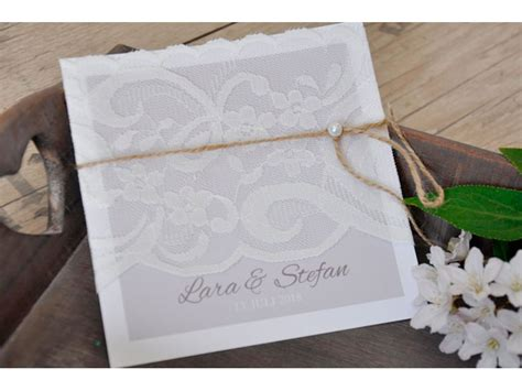 Einladungskarten Hochzeit Vintage by Einladungskarten Hochzeit Vintage Spitze