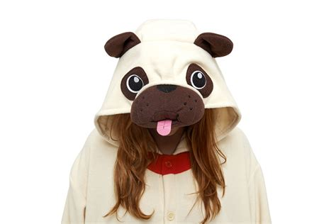 pug onesie for adults pug kigurumi onesie images at mighty ape nz