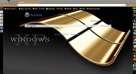 themes for gold xp microsoft windows xp gold chrome theme themebeta