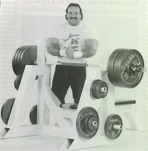 ted arcidi bench press wrestlingclassics com message board a bit ot a new role