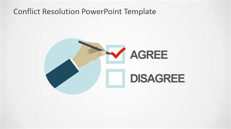 powerpoint template resolution conflict resolution powerpoint template slidemodel