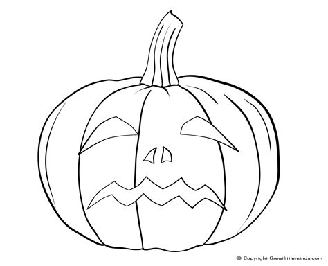 silly pumpkin coloring pages 4 best images of funny pumpkin faces printables funny