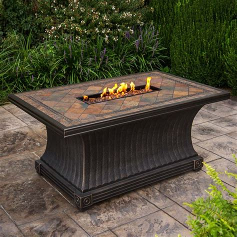 agio pit table agio vienna gas pit tile table starfire direct