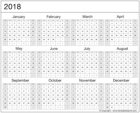 printable calendar 2018 uk monthly calendar 2018 printable uk printable calendar templates 2018