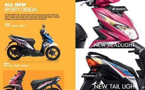 Lu Led Motor Honda Beat Esp harga all new honda beat esp 2018 spesifikasi dan gambar