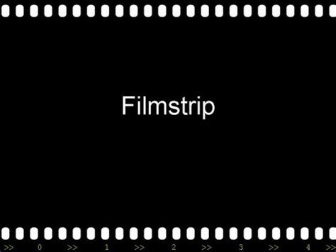 Filmstrip Powerpoint Template filmstrip