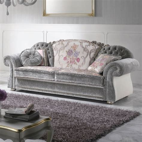 divani stile barocco divano a 2 posti stile barocco rivestito in tessuto