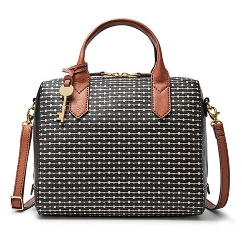 Fossil Fiona Brown fiona satchel fossil