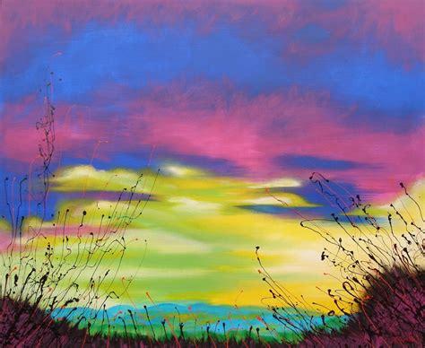 cuadros modernos pinturas y dibujos paisajes abstractos - Cuadros De Paisajes Abstractos