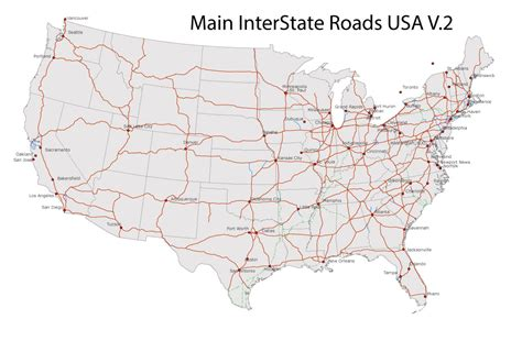 usa map interstate free interstate highway map search engine at