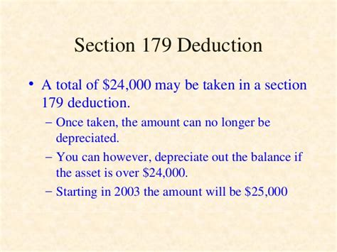 section 179 intangibles depreciation