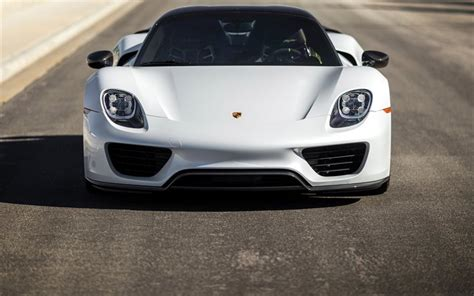 porsche 918 front wallpapers front view 918 spyder porsche 2015