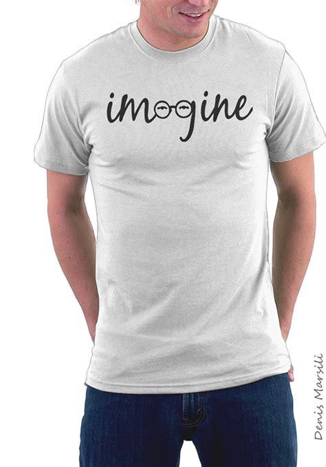 Lennon Imagine Vector T Shirt imagine lennon tribute t shirt collection on behance