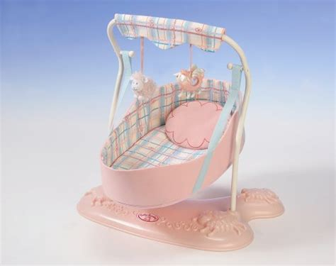 baby annabell swinging crib baby annabell baby swing