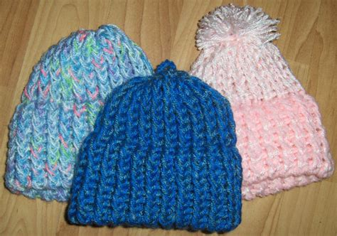 how to loom knit a baby hat how to make a baby hat on a knitting loom
