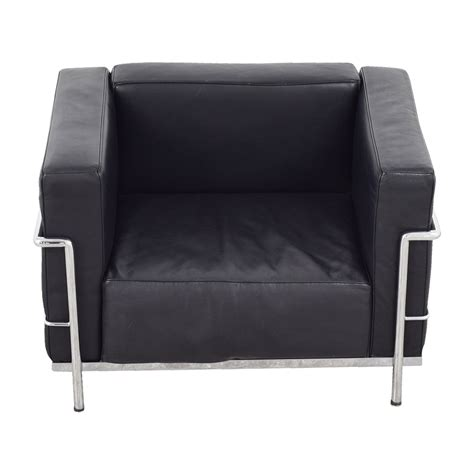 Le Corbusier Lounge Chair by 79 Le Corbusier Replica Black Lounge Chair Chairs