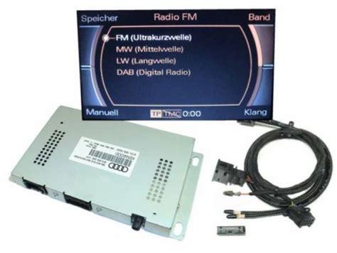 Komplett Set Digitales Radio Dab Audi A6 4f Mmi 2g