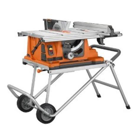 Ridgid Table Saws Ridgid Portable Table Saw