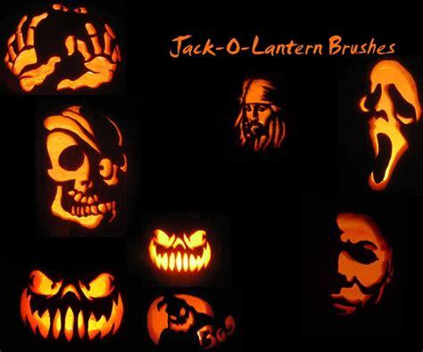 photoshop tutorial jack o lantern 30 awesome photoshop halloween brushes creative