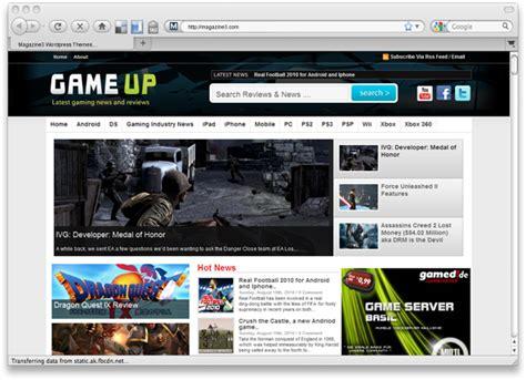 diario magazine and news wordpress theme nulled download gameup wordpress premium theme by magazine3 com