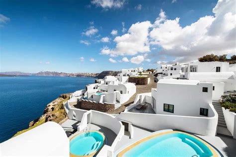 best luxury hotels santorini best luxury and boutique hotels in santorini