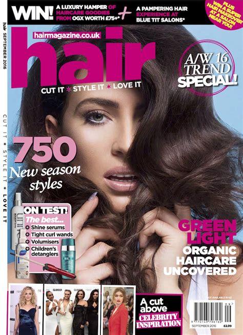 hairstyles magazine hair magazine september 2016 inanch